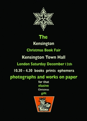 PBFA London Kensington Christmas Book Fair 2015