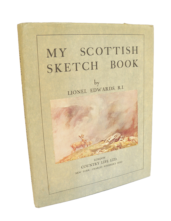 My Scottish Sketch Book. Lionel EDWARDS.