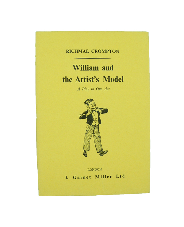 William and the Artist's Model. Richmal CROMPTON.