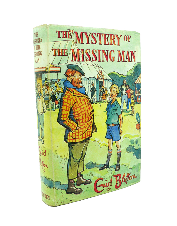 The Mystery of the Missing Man. Enid BLYTON.