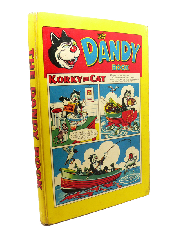 The Dandy Book (Annual) 1958. Dudley WATKINS.