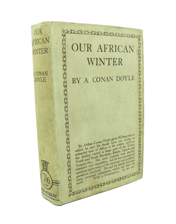 Our African Winter. Arthur Conan DOYLE.