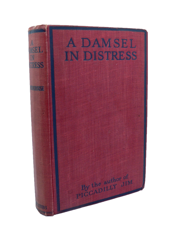 A Damsel in Distress. P. G. WODEHOUSE.