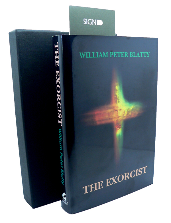 The Exorcist - Signed Limited 25th Anniversary Edition. William Peter BLATTY.