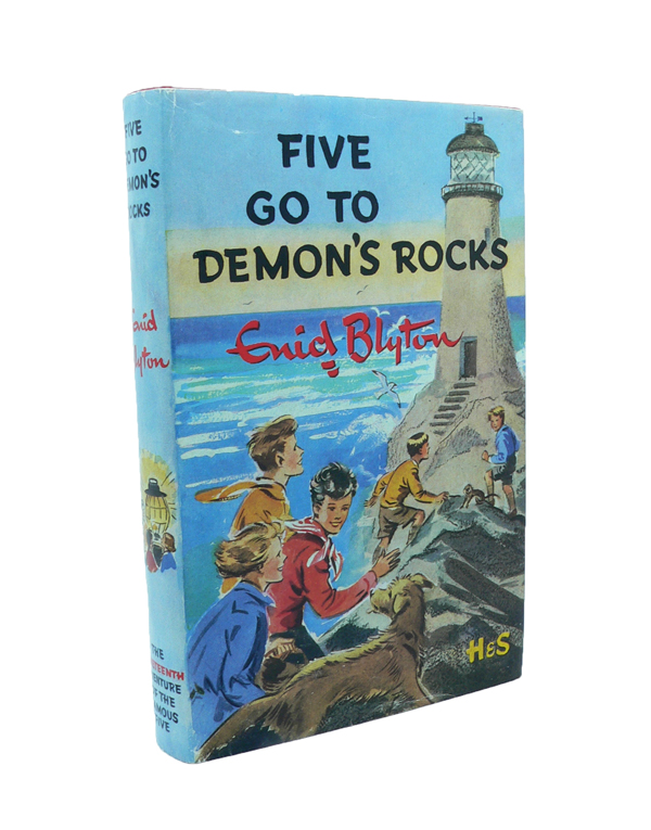 Five Go To Demon's Rock. Enid BLYTON.