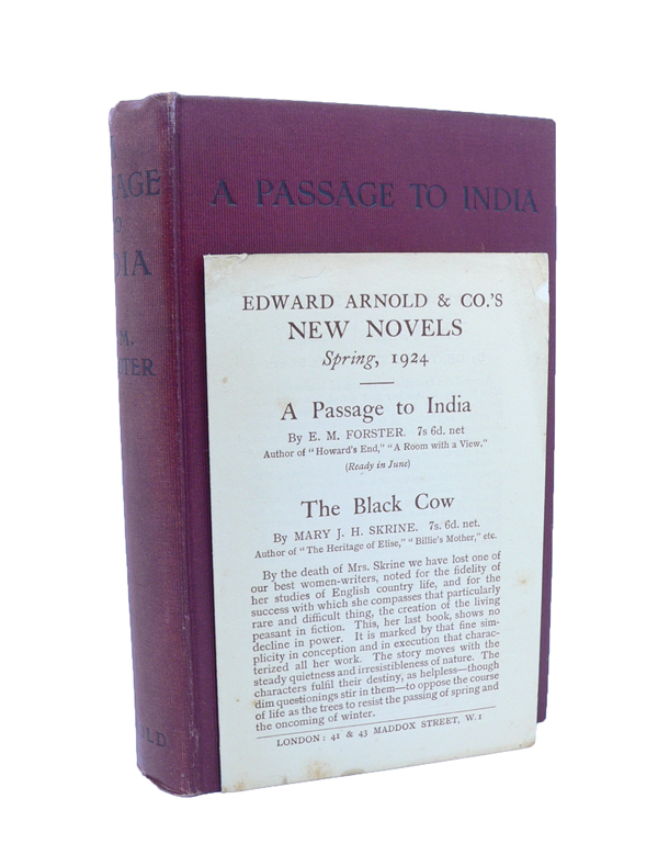 A Passage to India. E. M. FORSTER.