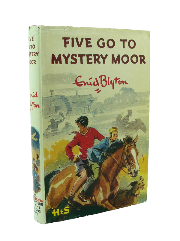 Five Go to Mystery Moor. Enid BLYTON.