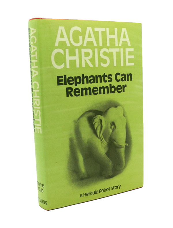 Elephants Can Remember. Agatha CHRISTIE.