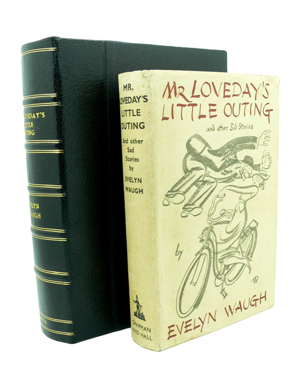 Mr Lovedays Little Outing. Evelyn WAUGH.