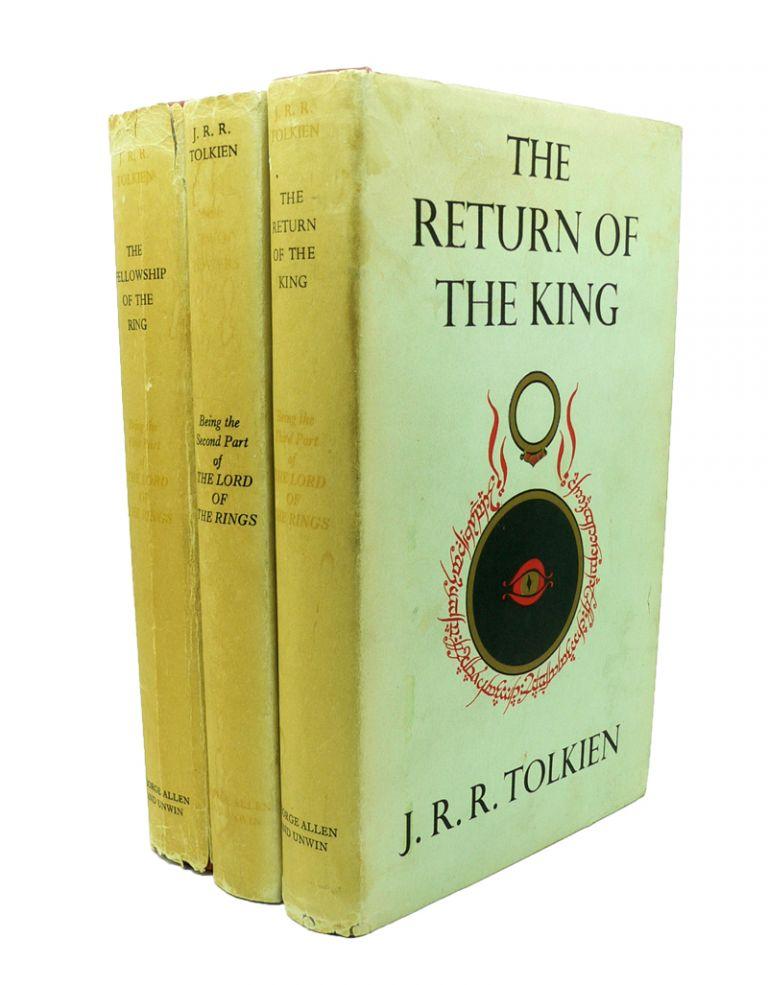 The Lord of the Rings [4th, 2nd & 1st impression]. The Fellowship of the Ring, The Two Towers, The Return of the King. J. R. R. TOLKIEN.