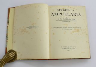 Studies in Ampullaria