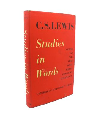 Studies in Words. C. S. LEWIS.