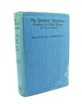 Searching for Pirate Treasure in Cocos Island. Malcolm CAMPBELL.