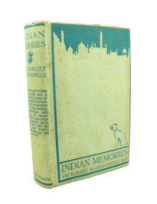 Indian Memories [in rare original dustwrapper