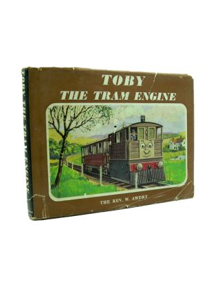 Toby the Tram Engine. Railway Series No. 7. Rev. W. AWDRY.