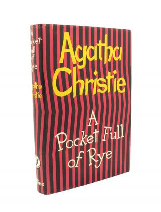 A Pocket Full of Rye. Agatha CHRISTIE.