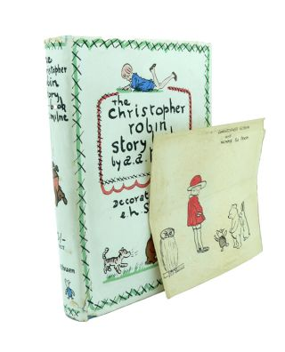 The Christopher Robin Story Book. A. A. MILNE.