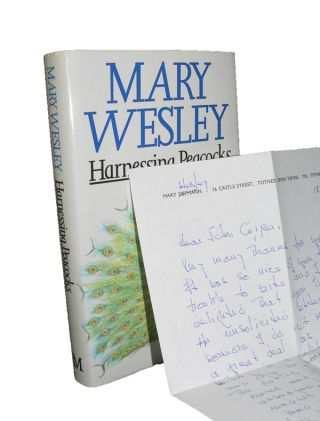 Harnessing Peacocks. Mary WESLEY.