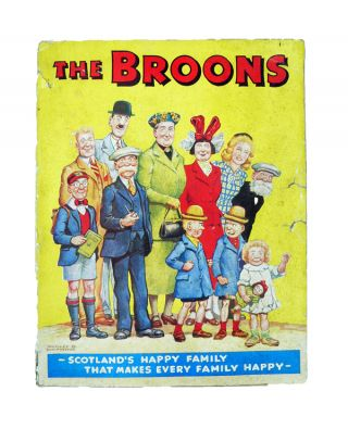 The Broons 1950. Dudley WATKINS.