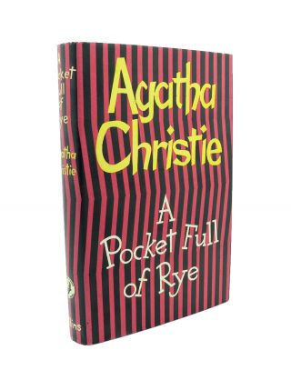 A Pocket Full of Rye. Agatha CHRISTIE