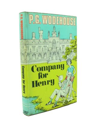 Company for Henry. P. G. WODEHOUSE