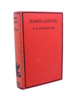 Summer Lightning. P. G. WODEHOUSE