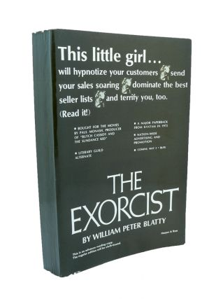 The Exorcist - Rare Advance Reading [Proof] Copy. William Peter BLATTY