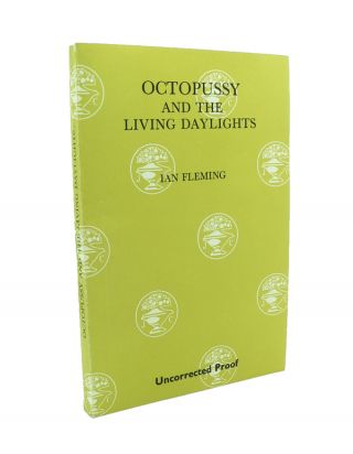 Octopussy - Publisher's Uncorrected Proof Copy.