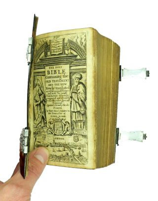 The Holy Bible Containing the Old Testament and the New.......