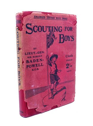 Scouting for Boys [with rare original early dustwrapper