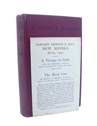 A Passage to India. E. M. FORSTER
