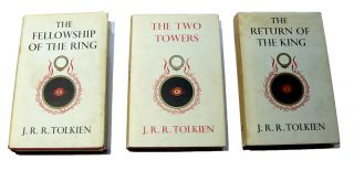 The Lord of the Rings [4th, 2nd & 1st impression]. The Fellowship of the Ring, The Two Towers, The Return of the King.