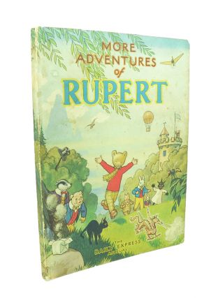 Rupert Annual 1947 More Adventures of Rupert. Alfred BESTALL