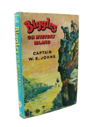 Biggles on Mystery Island. W. E. JOHNS