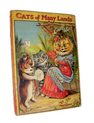 Cats of Many Lands. Louis WAIN, Norman GALE
