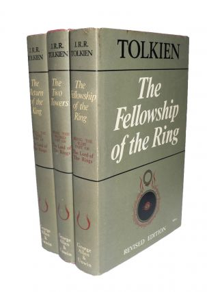 The Lord of the Rings [Second Edition Second Impression Near Fine set]. Comprising The Fellowship...